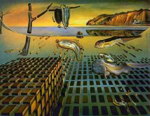 Salvador Dali - Disintegration of the Persistence of Memory - 1954